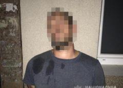 На Берегівщині поліція затримала 33-річного закарпатця, у машині якого знайшли зброю і наркотики (ФОТО)