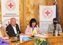 Закарпатський Червоний Хрест підсумував 5 років роботи