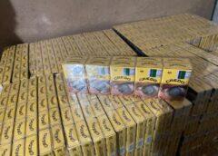 """Закарпатські прикордонники затримали """"водолазів"""" з контрабандними сигаретами (ФОТО)"""